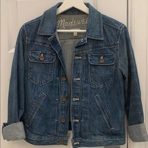 Madewell Denim Jean Jacket size Small